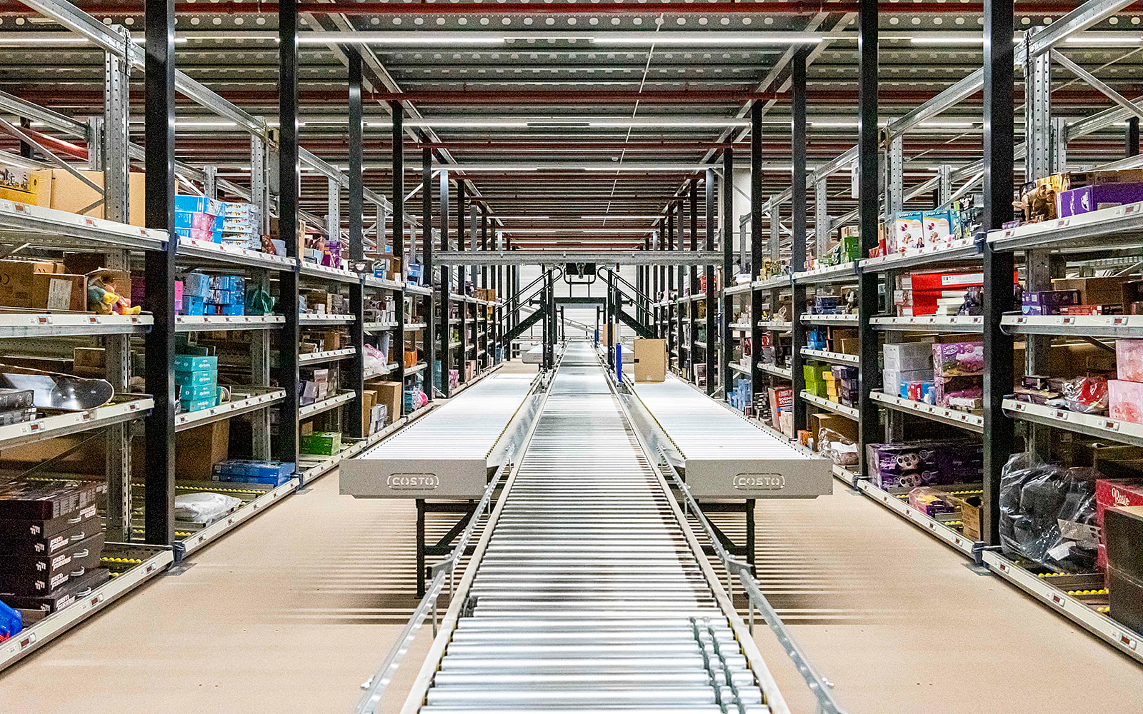 Zonepicking e-commerce orderpicking