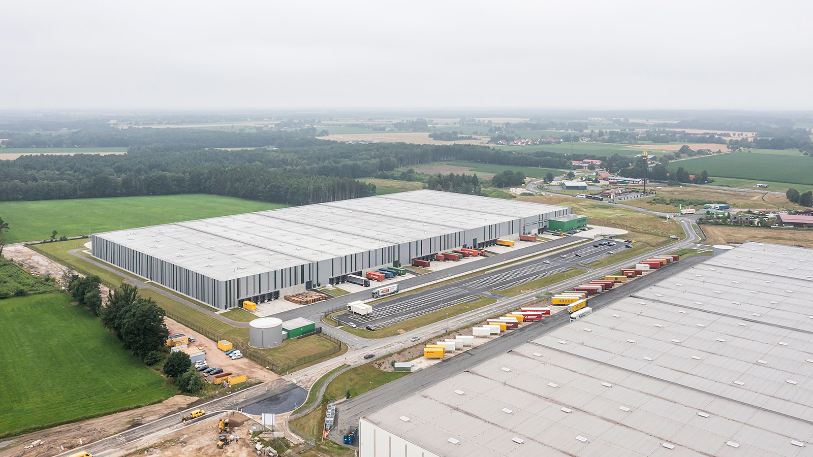 Dronephoto warehouse