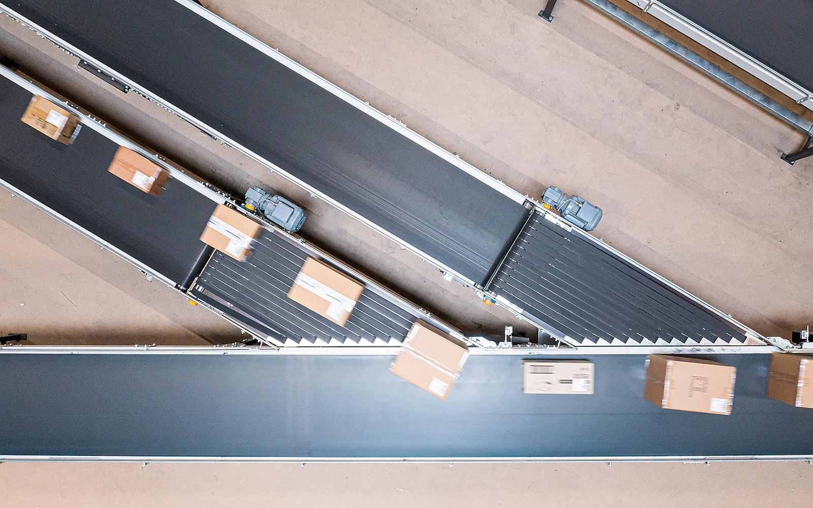conveyor header