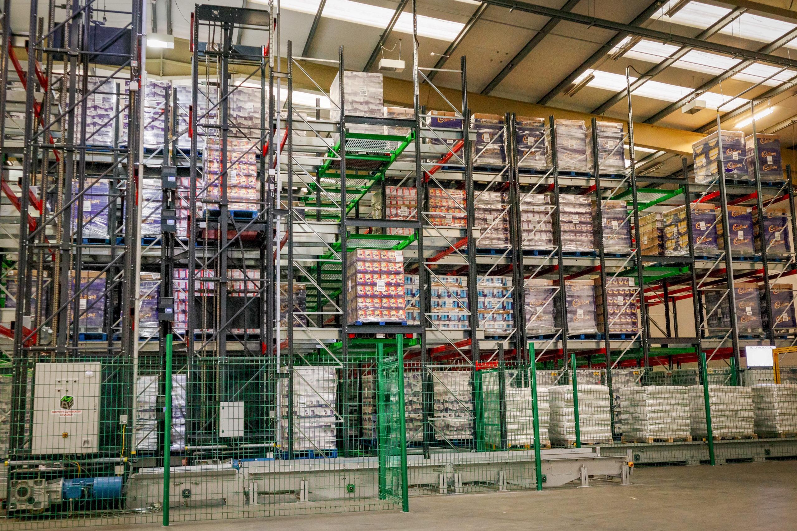 3D shuttle warehouse atomatic storage